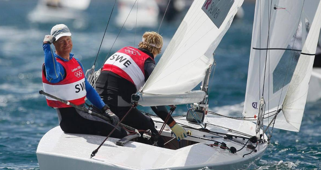 Sista OS-guldet i starbåt blev svenskt